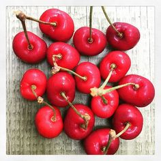 Delmar Farmers Market cherries. #farmersmarket #cherries