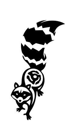 raccoon tattoos - Google Search