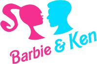 Barbie and Ken Silhouette Logo | accueil news showcase contact a propos