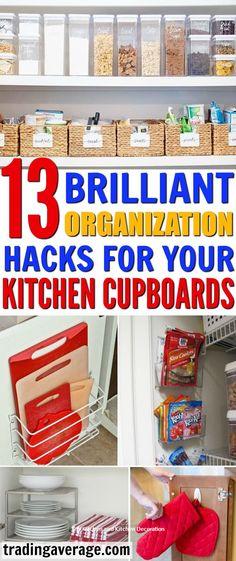 DIY Kitchen Organiza
