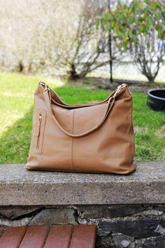 b103d6f32b Italian grey leather purse - MAX - grey leather hobo bag on Etsy ...