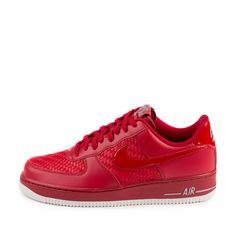 Nike - Nike Mens Air Force 1  07 LV8 Gym Red Summit White 718152-605 -  Walmart.com dcc21be7385c