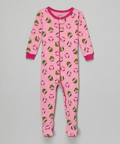 4f818a564ec6 Leveret Red   Pink Heart Pajama Set   Doll Outfit - Girls