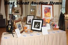 Best Silent Auction Items - A list of what sells best at silent auctions across the country. These items get lots of bids and go for more than their retail value.