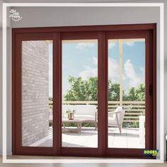 House Window Design, Window Grill Design, Balcony Design, Small House Design, Modern House Design, Modern Window Design, Window Glass Design, Door And Window Design, Exterior French Doors