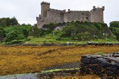 Dunvegan castle, île de Skye, Ross and Cromarty, Highland, Ecosse, Grande-Bretagne, Royaume-Uni. | par byb64