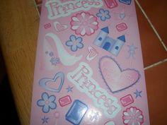 Princess 3 Stickers