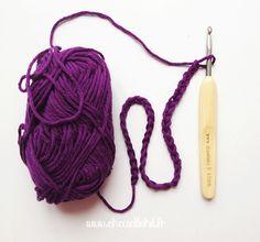 Crochet leçon n°1 La chainette