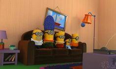 The Minions! Haha the Simpsons minions We Love Minions, Minions Love, Minions Despicable Me, Minions 2014, Minion Stuff, Minion Characters, Cosplay Characters, Movie Characters, Fictional Characters