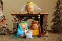 Resultado de imagen para el nacimientos de jesus en cascarones