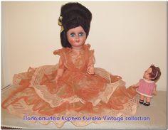 Ιταλική κούκλα καναπέ / κρεβατιού 1960's - 70's.