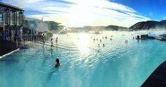 Time to get in and relax! #BlueLagoon #Iceland