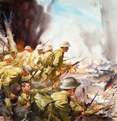 The Somme - 1916  One of the largest battles of World War I