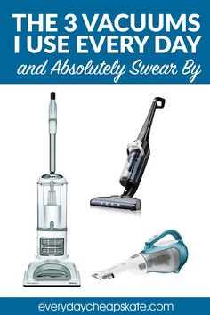 These are the three vacuums—worker bees!—that I own, love, and do not want to live without: Upright, stick vac and handheld, too . Shark Vacuum, Homemade Cleaning Products, Household Products, Household Tips, Best Vacuum For Carpet, Cleaning Wood Cabinets, Dawn Dishwashing Liquid, Trash Containers