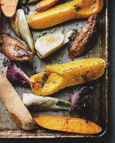 #Roasted #vegetables with #red #pepper spread by Sprouted Kitchen