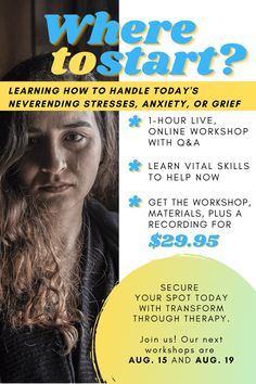 """NEW SPOTS AVAILABLE! Join us on August 15 or August 19 for our """"Where To Start: Prioritizing and Handling the Never Ending Stress, Anxiety or Grief"""" workshop. Only $29.95!  • It's always more than just one thing. Family, work, loss, uncertainty. When it rains it pours. We'll give you solid strategies that you can implement in your own life right now that will help you find shelter from the storm. • #stress #anxiety #grief #mentalwellness #onlinetherapy #teletherapy #grief #struggling #loss… When It Rains, Prioritize, Grief, Never, Anxiety, Workshop, Stress, Therapy, Handle"""