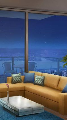 Episode Interactive Backgrounds, Episode Backgrounds, New Backgrounds, Anime Places, Home Room Design, Anime Scenery, Cool Rooms, Living Room Sofa, House Rooms