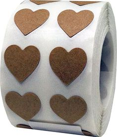 Brown Tape, Vote Sticker, Office Branding, Awareness Ribbons, Natural Brown, Mixed Media Art, Gingerbread Cookies, Adhesive, Valentines Day