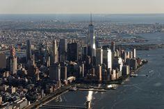 Hubschrauberflug, Lower Manhattan, New York City, United States Lower Manhattan, Townhouse, New York City, New York Skyline, Skyscraper, United States, Nyc, Canada, World