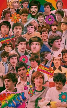 show Eric Forman Collage - Steven Hyde, Eric Foreman, 70 Show, 70s Aesthetic, Actors, Jelsa, Movies Showing, Cute Wallpapers, Favorite Tv Shows