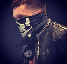 Prince Devitt. Original leader of the Bullet Club.