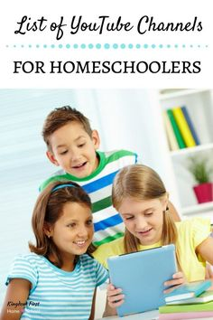 Are you looking for an easy way to add a little umph to your homeschool? Finding Youtube channels for homeschoolers is one of the easiest ways to supplement your homeschool. There are thousands of educational videos to choose from.