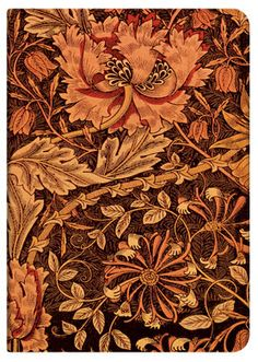 Morris Honeysuckle; part of Paperblanks' William Morris collection of writing journals.