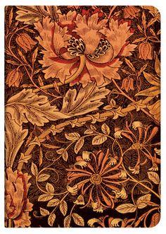 William Morris Decorative Naturalist of the Art & Crafts Movement - Morris Honeysuckle
