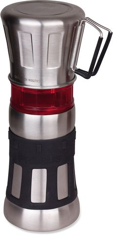 At REI Outlet: Primus Flip N Drip Coffee Maker — Super cool way to make a cup of coffee fast!