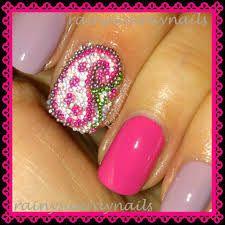 serious glitter nail