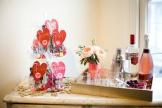 A Girls' Night In Valentine's Day Party | www.theglitterguide.com