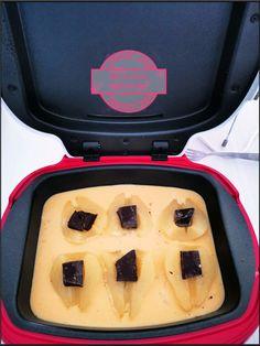 Gâteau aux poires et chocolat au cake factory - Ma cuisine débutante