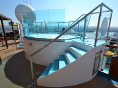 Perhaps the best Serenity is on Carnival Sunshine, where there's a three-level adults-only area with the added features of a pool and waterfall.