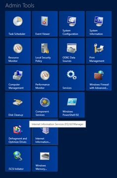 Adding the Administrative Tools to the Windows 8 Start Screen
