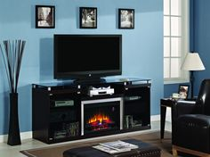 Albrite espresso entertainment center electric fireplace throughout with designs. architecture: electric fireplace with entertainment Entertainment System, Entertainment Room, Electric Fireplace Entertainment Center, Entertainment Center Kitchen, White Electric Fireplace, Electric Fireplaces, Diy Man, Galaxy A5, Home