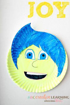 Inside Out Paper Plate Kids Craft Joy