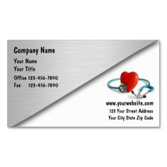 Medical Business Cards  It Is Click And Template