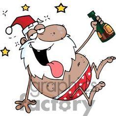 Drunk-African-American-Santa-Clause