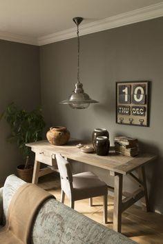 taupe eignet sich auch fr rustikale einrichtung - Taupe Wohnzimmer