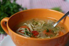 Supa detoxifianta face minuni pentru organism Healty Dinner, Us Foods, Thai Red Curry, Soup, Ethnic Recipes, Soups