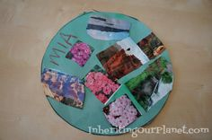 Recycled Magazine #Kids Art Activity. Adults could do a grown-up version of this too. #collage #upcycle
