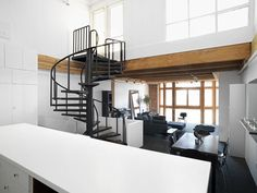 Crosstown Loft in Canada by Campos Leckie Studio in architecture  Category