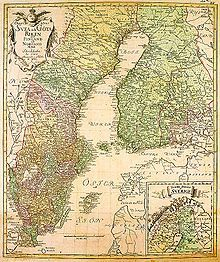 The Swedish rule ends in A map from 1747 History Of Finland, History Timeline, Old Maps, Historical Maps, Historian, Continents, Geography, Sweden, Vintage World Maps