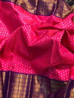 South Indian Wedding Saree, Indian Bridal Sarees, Indian Bridal Fashion, Indian Beauty Saree, Saree Wedding, Wedding Saree Blouse Designs, Pattu Saree Blouse Designs, Half Saree Designs, Kanjivaram Sarees Silk