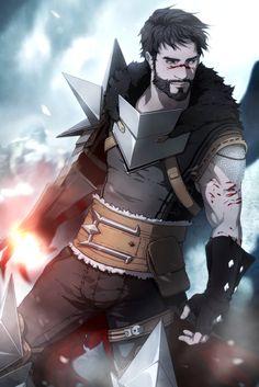 Dragon Age 2 Fan Art by Gobeur