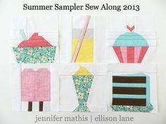 summer sampler blocks 1-6 | Flickr - Photo Sharing!