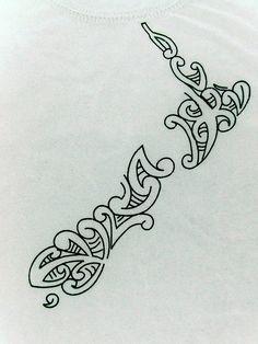 23 Awesome maori new zealand map tattoo images Maori Tattoos, Kunst Tattoos, Tattoos Skull, Bild Tattoos, Tattoo Drawings, Body Art Tattoos, Tribal Tattoos, Tatoos, Borneo Tattoos