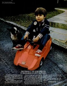 Poweride, Electric Cars for Kids, 1970.