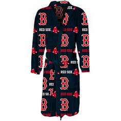 Boston Red Sox Highlight Micro Fleece Robe by Concepts Sport  - MLB.com Shop