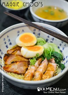 red pork noodle